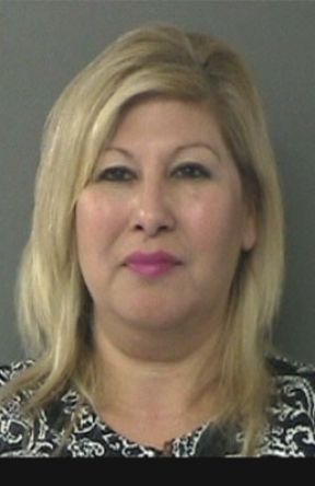 Delma Flores-Smith turned herself in at the Waller County Jail.